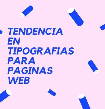 Tendencia en tipografías web para 2020